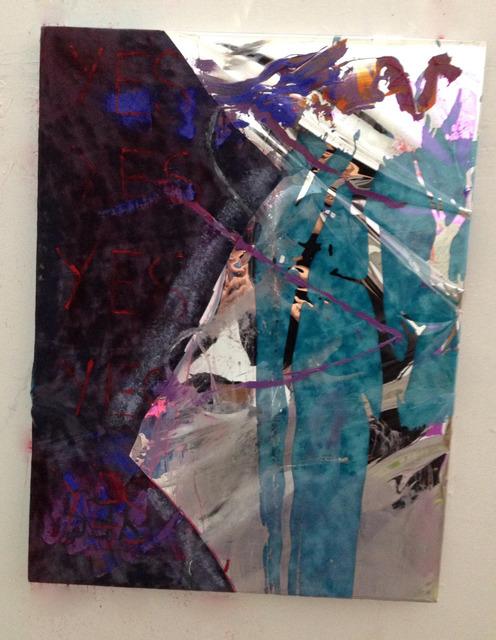 , 'Blue Velvet YES YES YES YES YES,' 2014, Nina Johnson