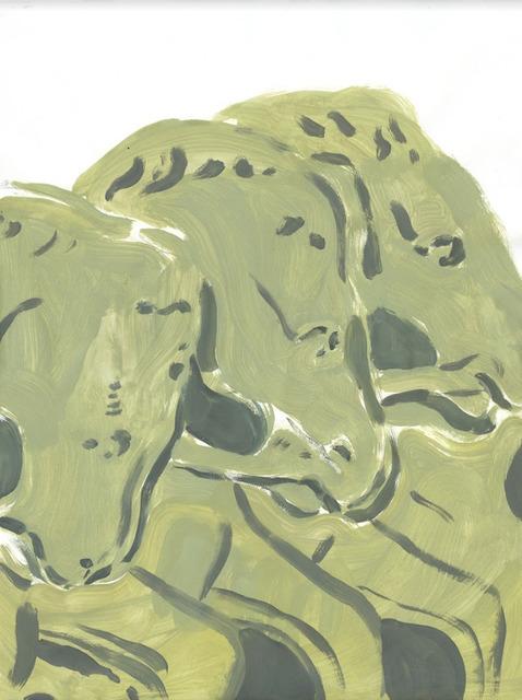 , 'three horses ,' 2018, 1969 Gallery