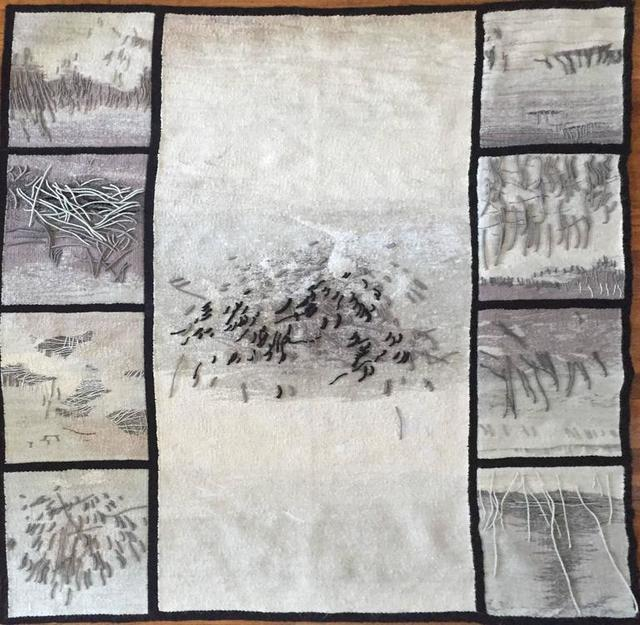 Aleksandra Manczák, 'Gobelin In Memory of My Mother, Rare Handmade Polish Tapestry', 20th Century, Lions Gallery