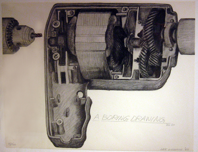 , 'A Boring Drawing,' 1969, Alden Projects
