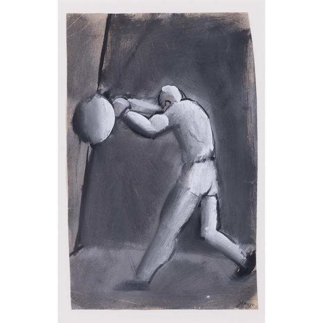 Mario Sironi, 'The boxer', PIASA