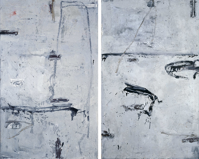 , 'Beijing Image – Diptych 北京印象 -雙聯幅,' 1990, Alisan Fine Arts