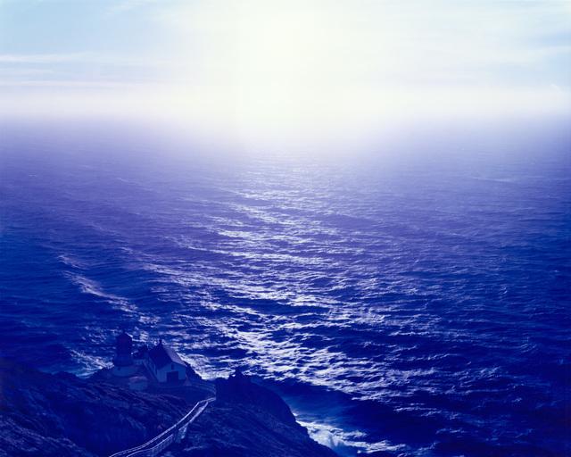 , 'Above Abyss Blue Below, Point Reyes, California,' 2015, Fraenkel Gallery