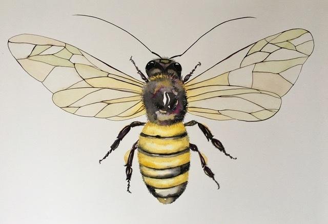Idoline Duke, 'Mighty Honeybee', 2019, ARC Fine Art LLC