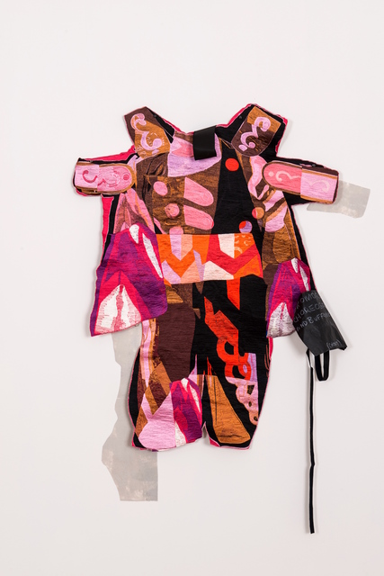 , 'Assemblage Embroidery #6 (Buffoon),' 2015-2016, Postmasters Gallery