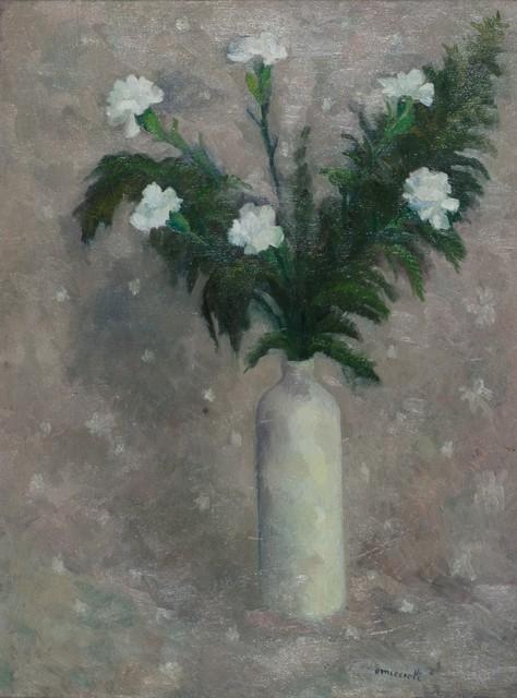 Giovanni Omiccioli, 'White flowers', 1957, Finarte