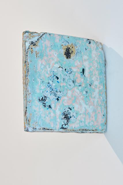 , 'Stratigraphy (studio map),' 2018, MLF   MARIE-LAURE FLEISCH