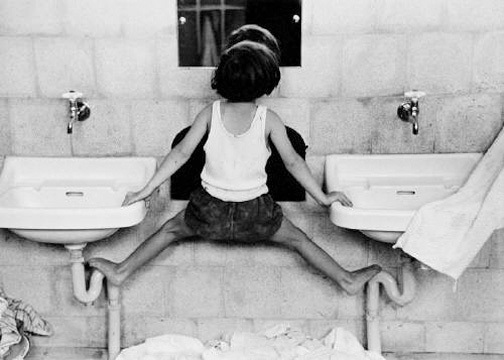 , 'Tirsa on Sinks,' ca. 1952, Lumiere Brothers Gallery