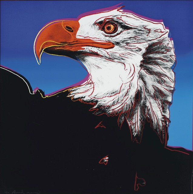 Andy Warhol, 'Bald Eagle', 1983, DeCarrera Fine Art