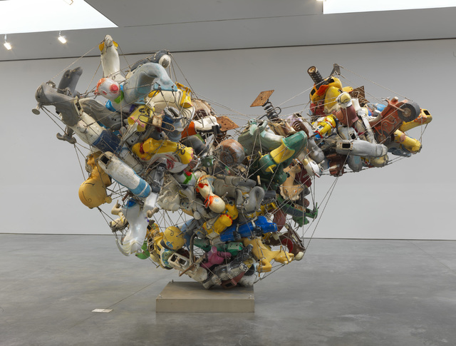 , 'Our Friend Fluid Metal, Spiral Ragusso (View 1),' 2013, Gagosian