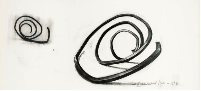 , 'Undetermined Line,' 1988, ARCHEUS/POST-MODERN
