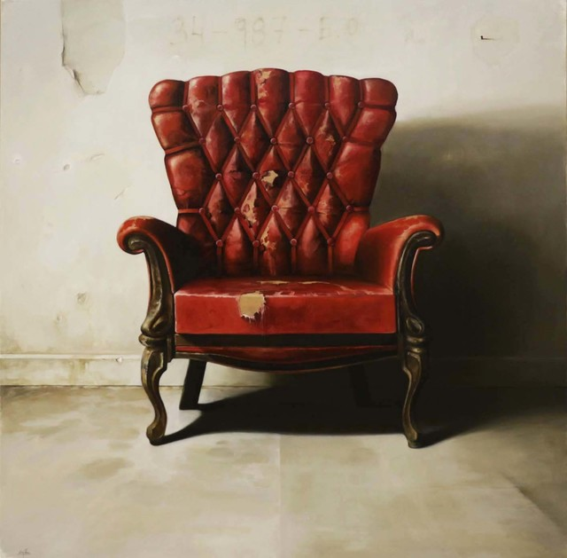 , 'Red Chair,' 2016, Dan Gallery