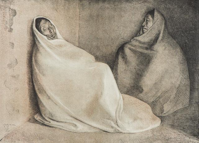 Francisco Zúñiga, 'Dos Mujeres Sentadas', 1978, Larsen Gallery