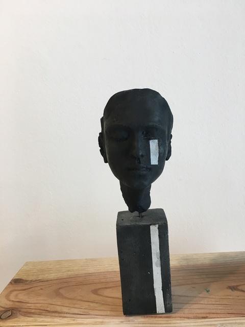 , 'Petit ciment larmes noir 2,' 2017, Anquins Galeria