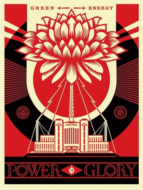 Shepard Fairey, 'Power & Glory ', 2014, New Union Gallery