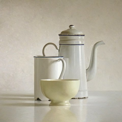 , 'Cafetiere, bowl and can,' 2013, Smelik & Stokking Galleries