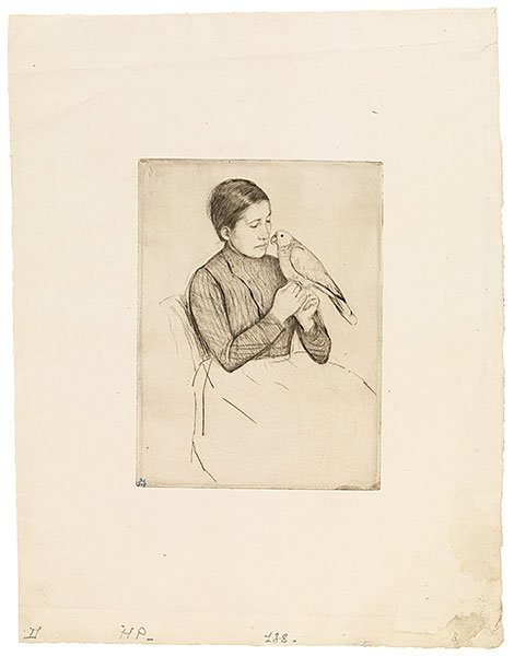 , 'The Parrot,' ca. 1891, Adelson Galleries