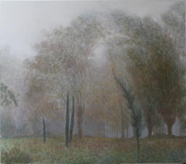 , 'Jardín con Niebla,' 2014, Álvaro Alcázar