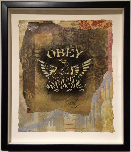 , 'Eagle stencil,' , MUCA