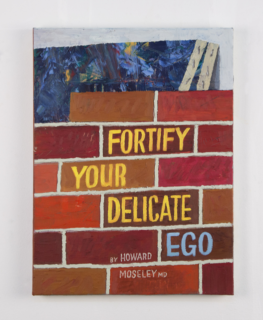 , 'Fortify Your Delicate Ego,' 2015, Freight + Volume