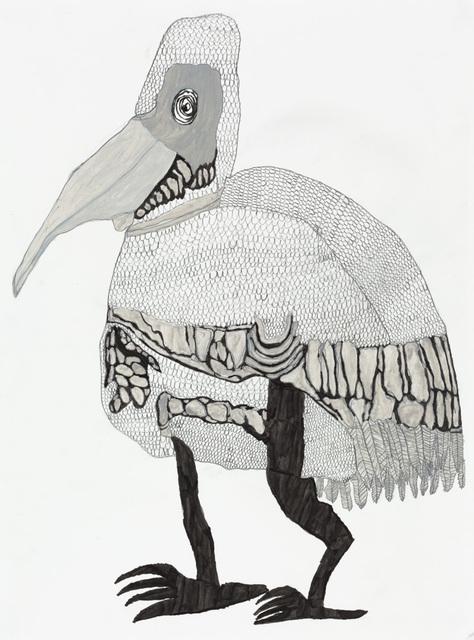 , 'Pelican,' 2017, Creativity Explored