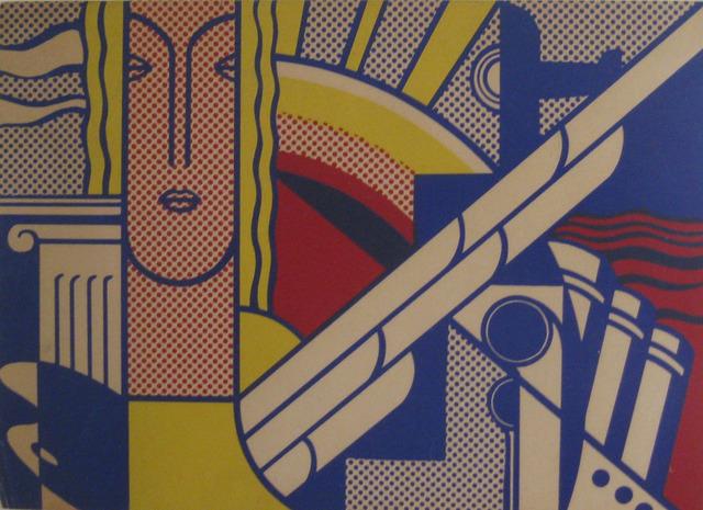 Roy Lichtenstein, 'Modern Art Poster (Corlett II.8)', 1967, Alden Projects
