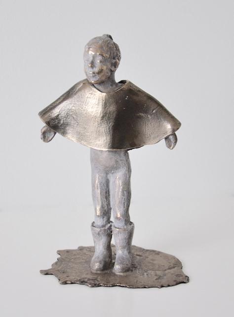 Kari Lena Flåten, 'Close your eyes and count to ten', 2019, Sculpture, Bronze, GALLERI RAMFJORD