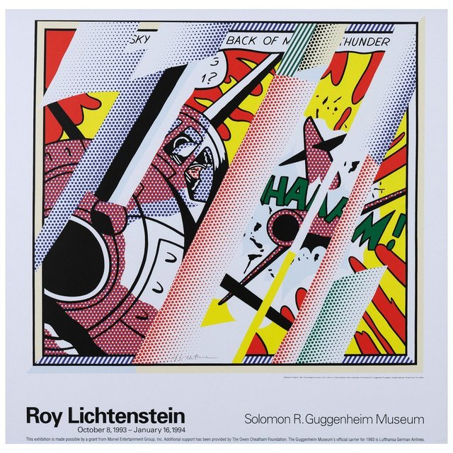 Roy Lichtenstein, 'Guggenheim', 1968, Posters, Offset lithograph, Caviar20