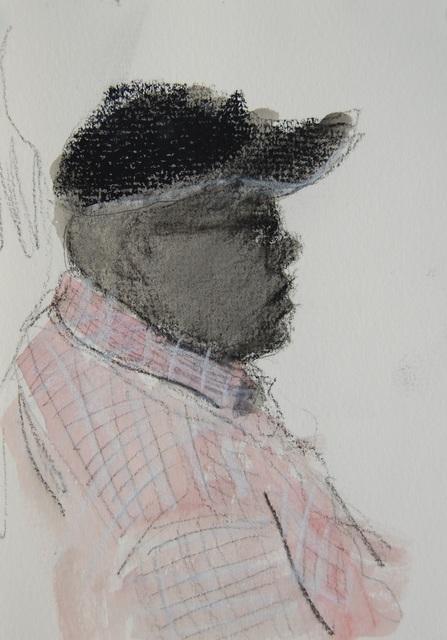 Patrick Jewell, 'Pink Shirt, Black Cap', 2018, Ground Floor Gallery
