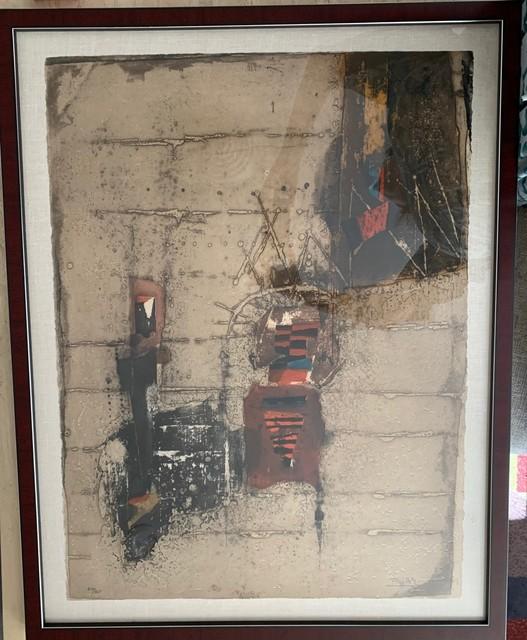 Johnny Friedlaender, 'Dedicace', Unknown, Print, Etching, Leviton Fine Art