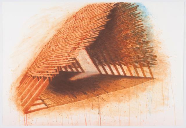 Robert Stackhouse, 'Encountering', 1992, Print, 10 color spitbite / aquatint / etching, Graphicstudio USF