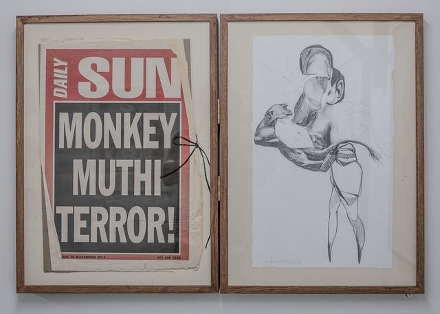 , 'Monkey Muthi Terror!,' 2016, heliumcowboy