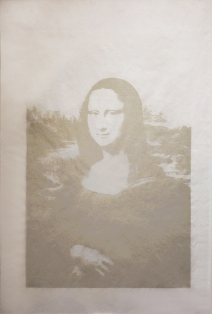 Andy Warhol, 'Mona Lisa', ca. 1978, Print, Unique silkscreen with synthetic polymer paint on vellum, Collectors Contemporary