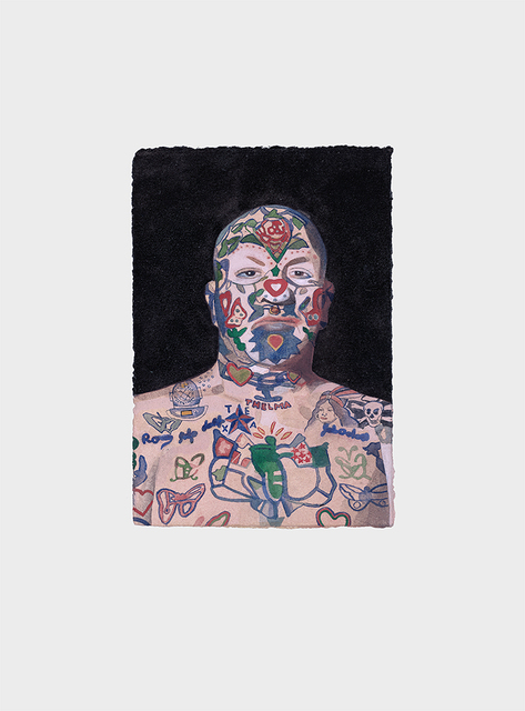 , 'Tattoo People (Ron),' 2015, bo.lee gallery