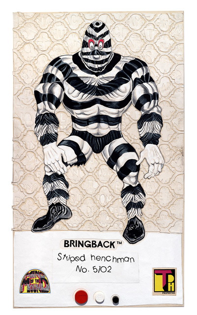 , '8 Back Icon Series: Bringback – Striped Henchman, No.5102,' 2016, Vancouver Art Gallery