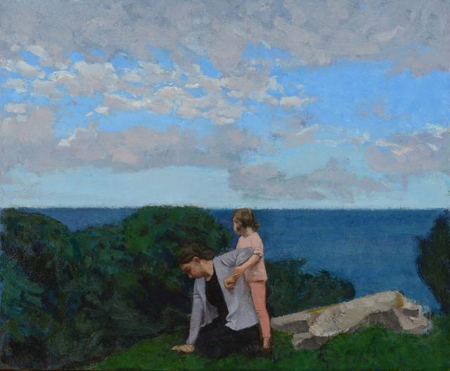 , 'The Ocean,' 2017, John Martin Gallery