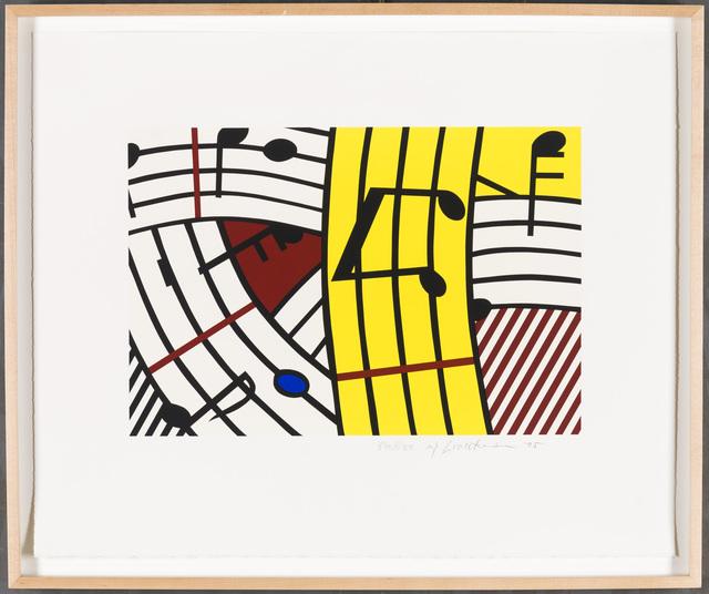 Roy Lichtenstein, 'Composition IV', 1995, Christopher-Clark Fine Art