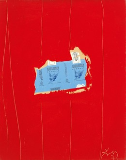 Robert Motherwell, 'Gauloises with Scarlet No. 1', 1972, Dedalus Foundation