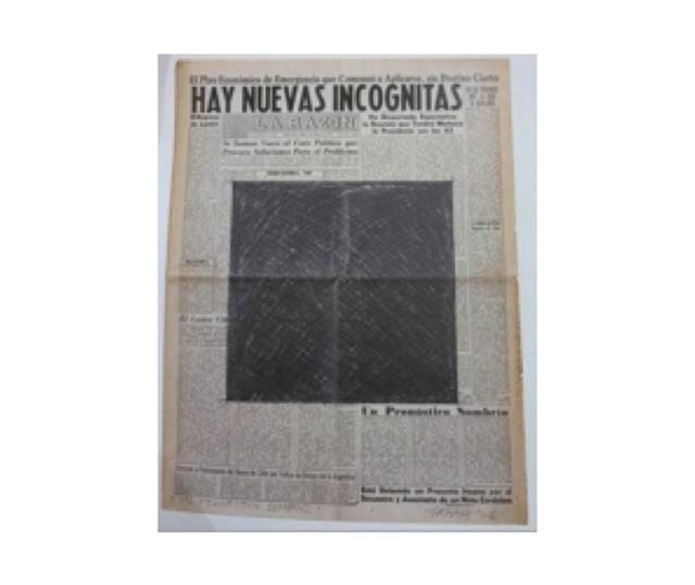 , 'Un prognóstico sombrío,' 1976, Herlitzka + Faria