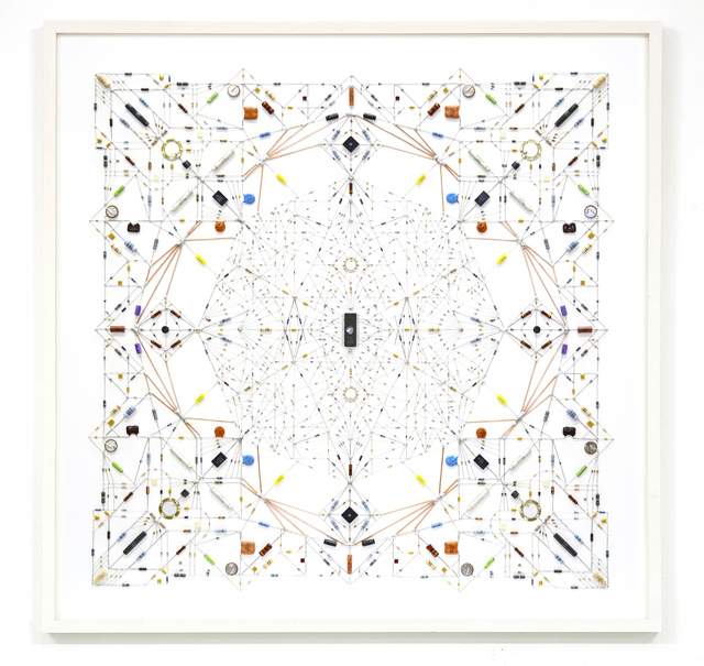 , 'technological mandala 54,' 2015, The Flat - Massimo Carasi