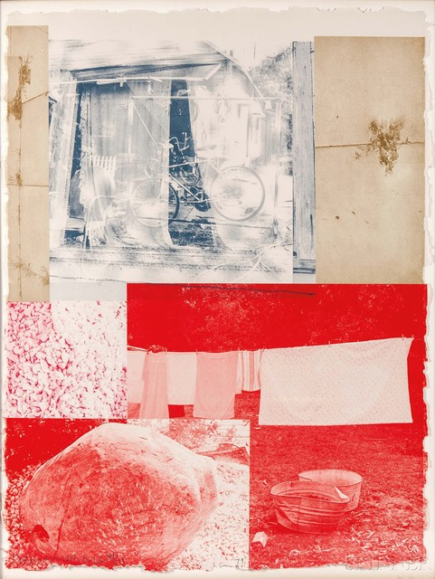 Robert Rauschenberg, 'Rose Bay', 1979, Print, Color lithograph on paper, Skinner