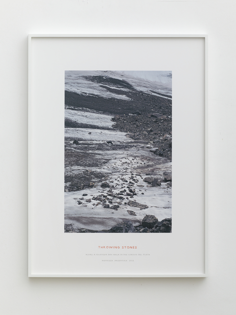 , 'Throwing Stones,' 2012, Lisson Gallery