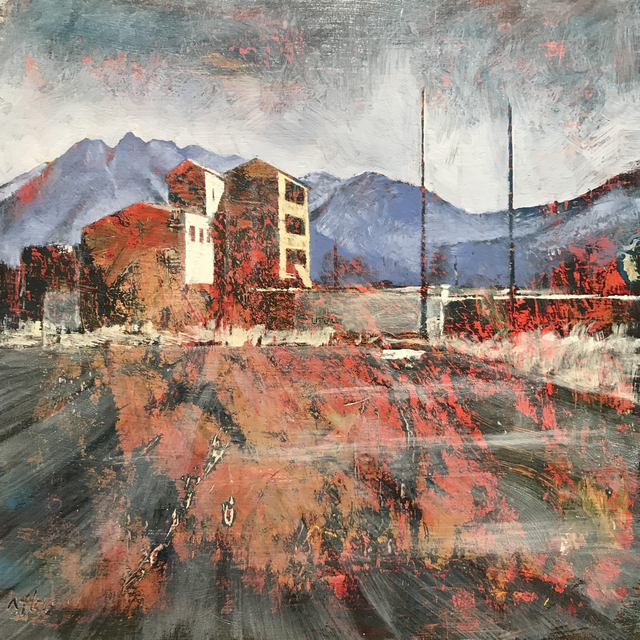 , 'Reflection II: Factory,' 2017, Modern West Fine Art