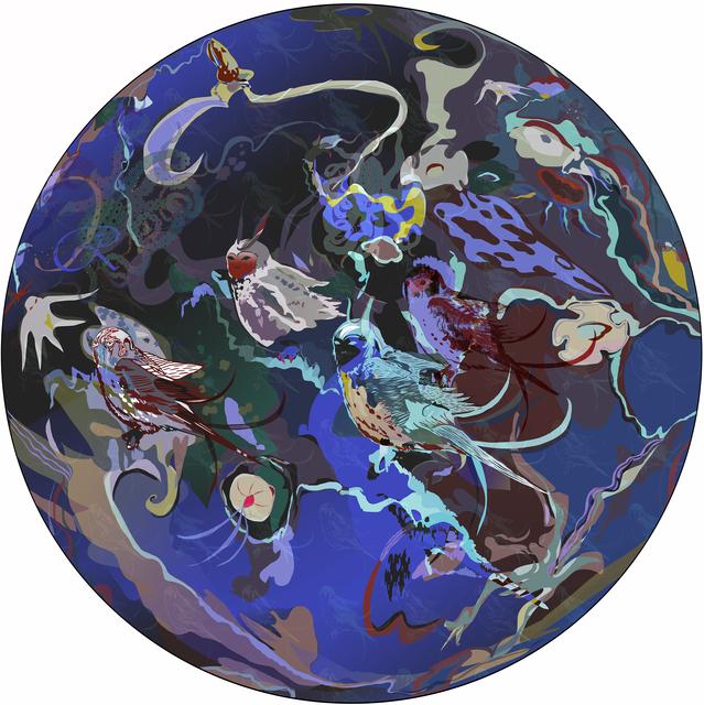 , 'Pangaea Ultima series, #1,' 2015, Gridchinhall