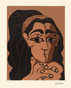 Pablo Picasso, 'Portrait de Jacqueline au bandeau', 1962, Coskun Fine Art