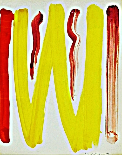 , 'Untitled Gouache (Estate Authenticated),' 1954, Alpha 137 Gallery