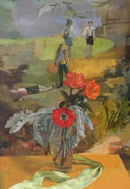 , 'softly, softly,' 2017, Tibor de Nagy