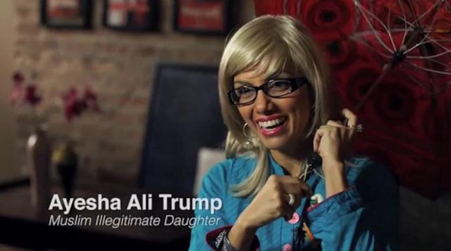 , 'The Muslim Trump,' 2016, 6018North/ 3Arts