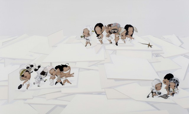 , '知游者 Travelling Thinker,' 2011, Amy Li Gallery