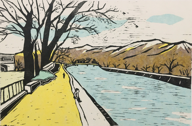 , 'Downstream By The River,' 2019, Karin Weber Gallery